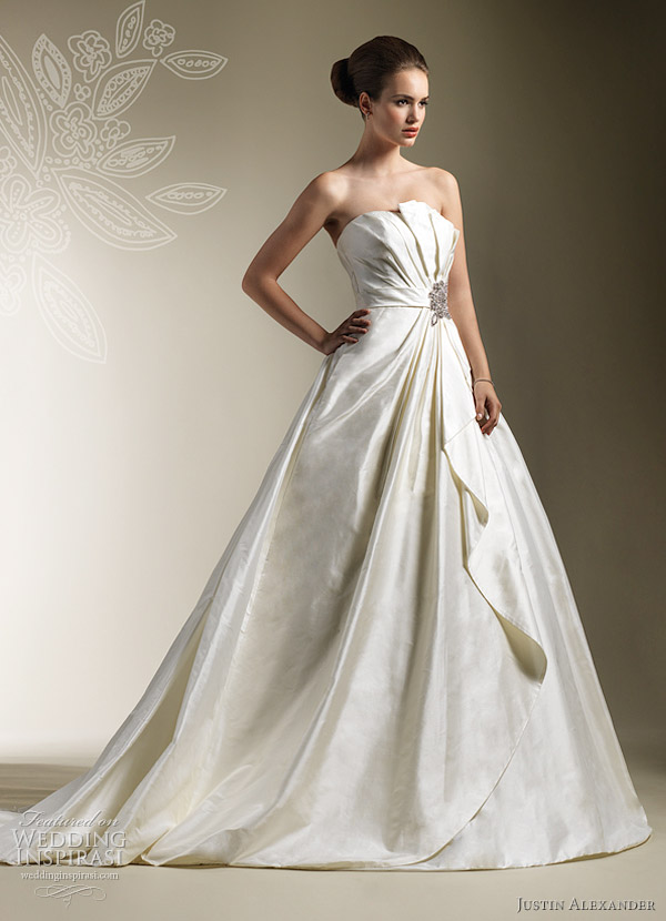 justin alexander 2012 ball gown style 8619