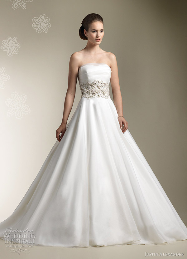 justin alexander 2012 ball gown