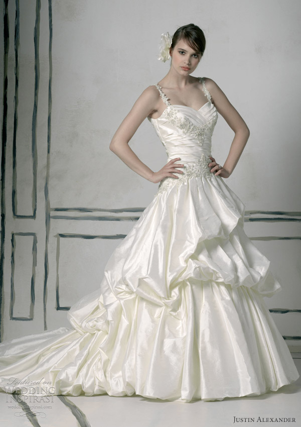 justin alexander 2012 wedding gowns 8536
