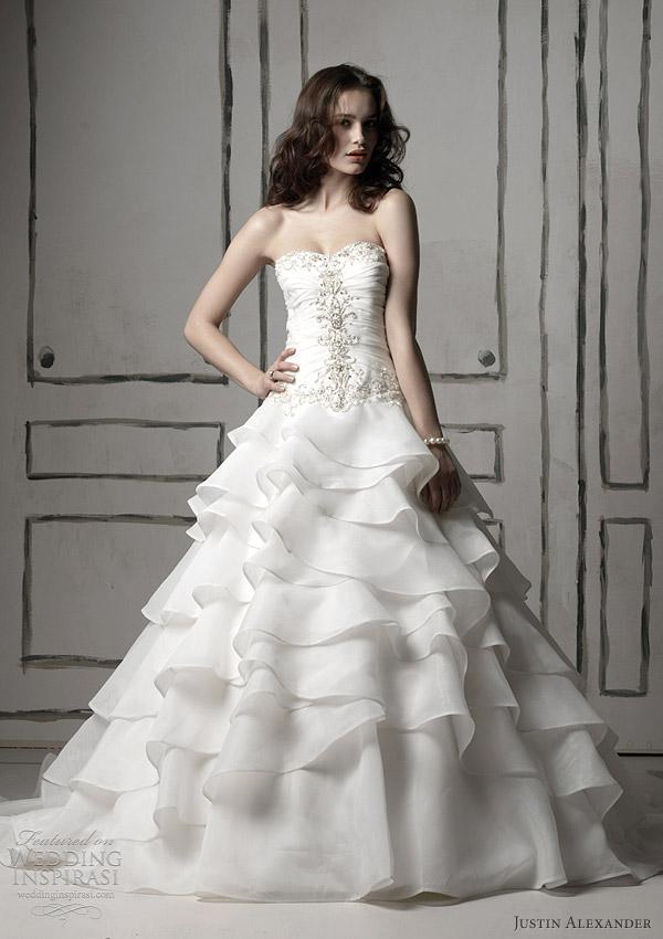 justin alexander bridal 8486