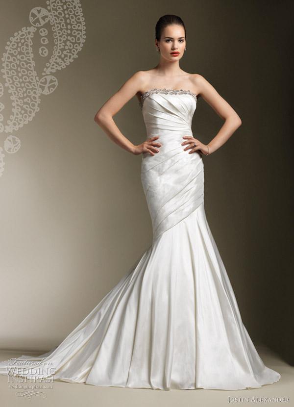 justin alexander wedding dresses 2012