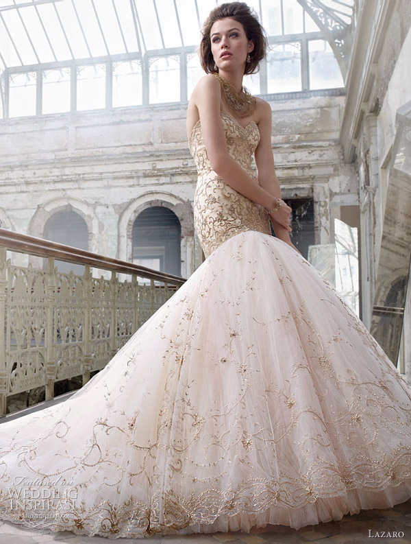 lazara spring 2012 wedding dresses - lz3217