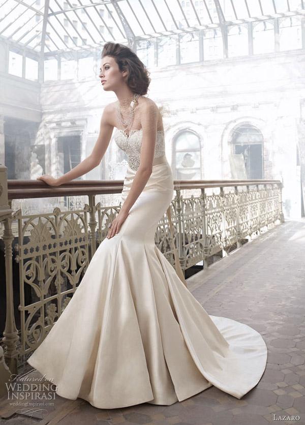 lazaro wedding dress 2012 - style 3207