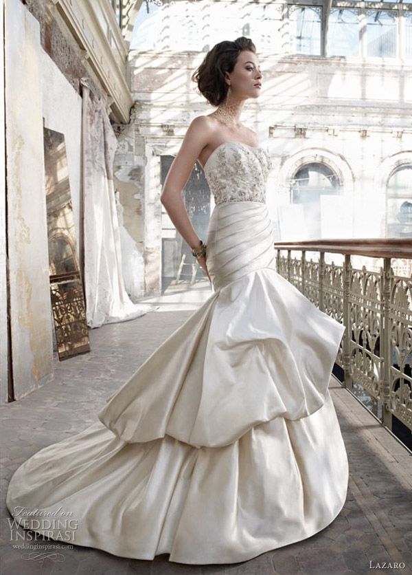 lazaro wedding dress spring 2012 - style 3206