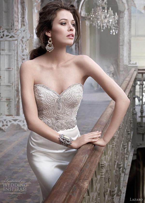 lazaro wedding dresses 2012 - style 3214