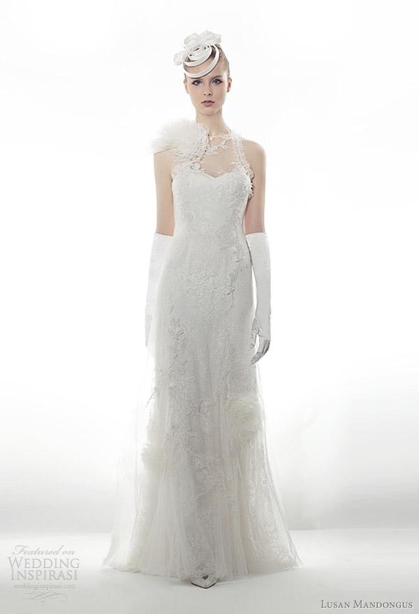 lusan mandongus 2012 wedding dresses