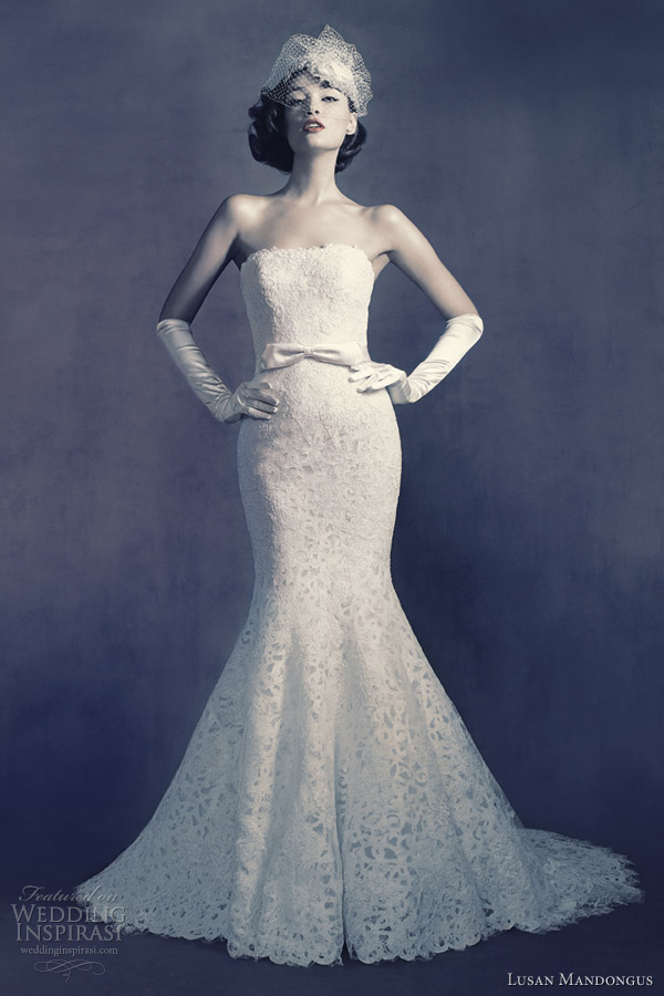 lusan mandongus wedding dress 2012