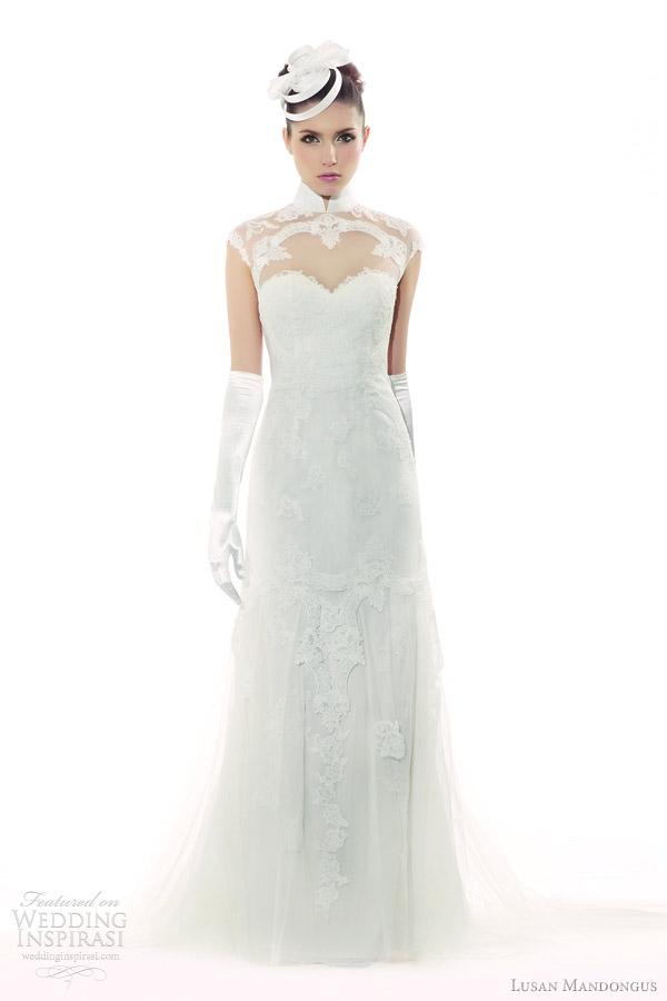 lusan mandongus wedding dresses 2012