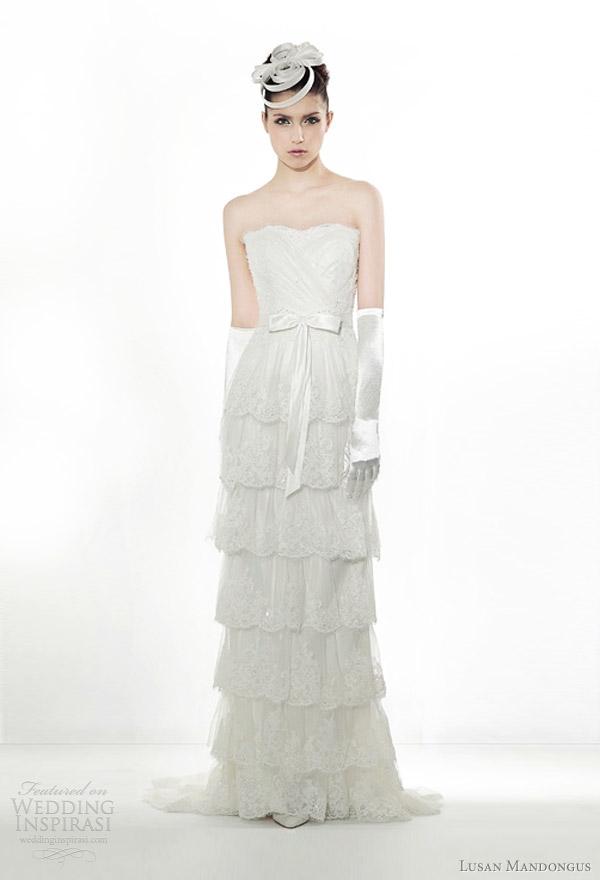 lusan mandongus wedding gowns 2012