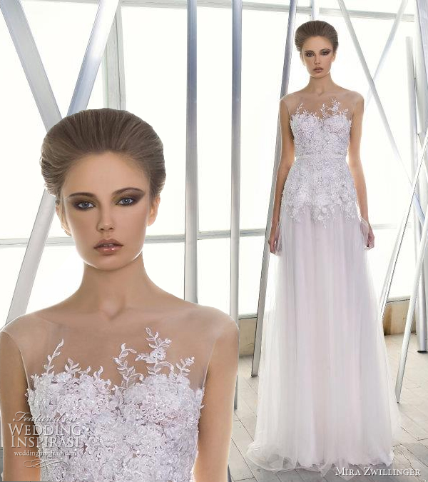 mira zwillinger couture wedding dress 2012
