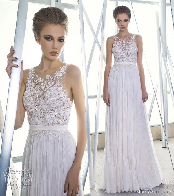 mira zwillinger couture wedding gowns 2012