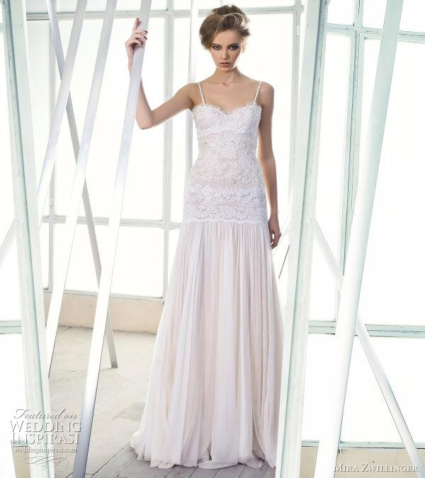 mira zwillinger wedding dress 2012