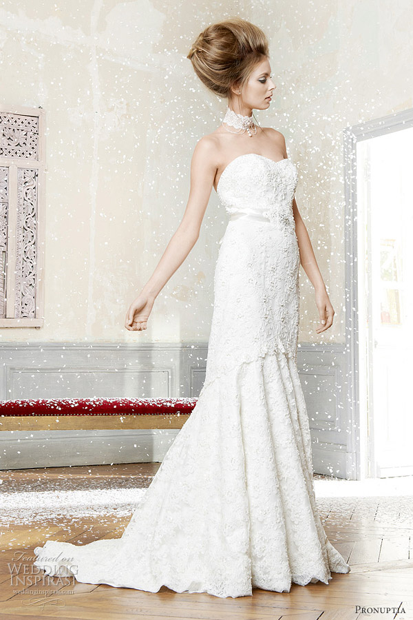 pronuptia 2012 - splendide wedding dress