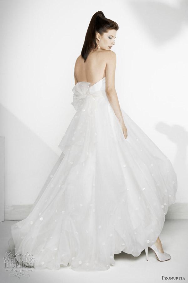 pronuptia wedding dresses 2012 - Cinema bridal gown