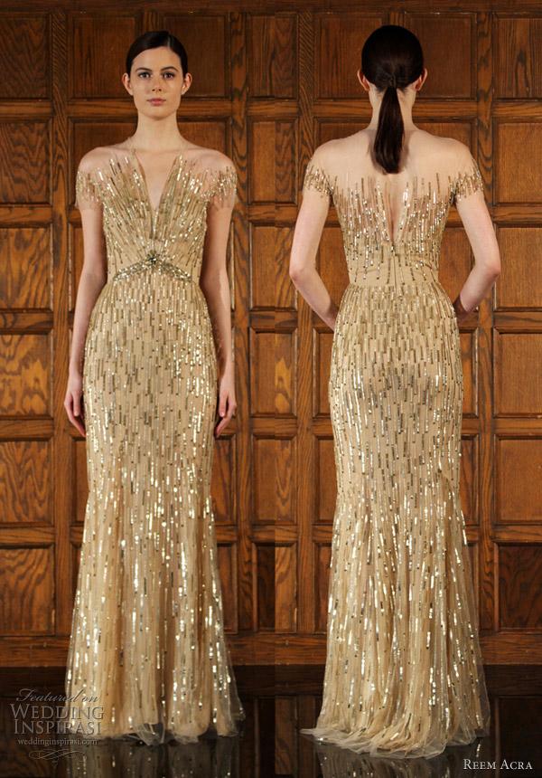 reem acra fall 2012 dresses