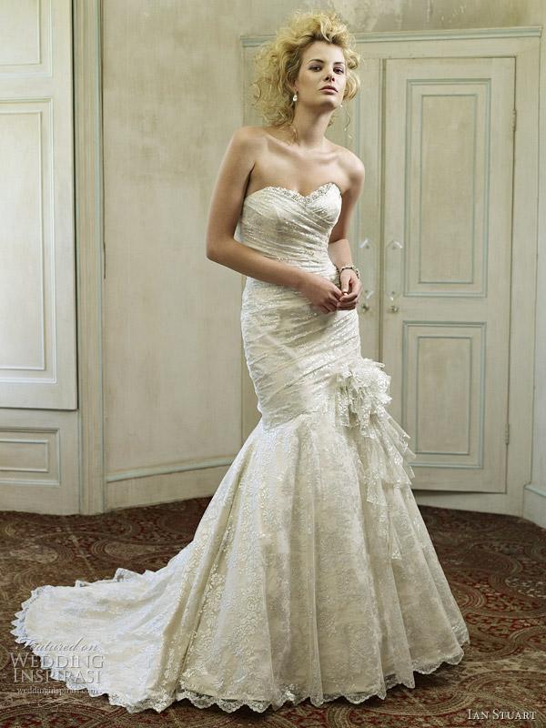 santa monica wedding dress 2012