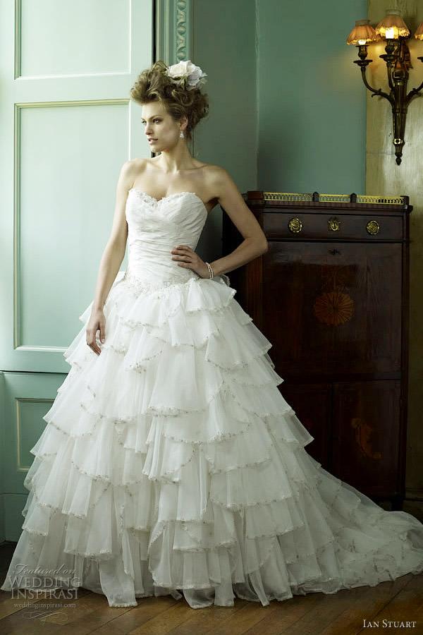 tea length wedding gowns 2012 fontana