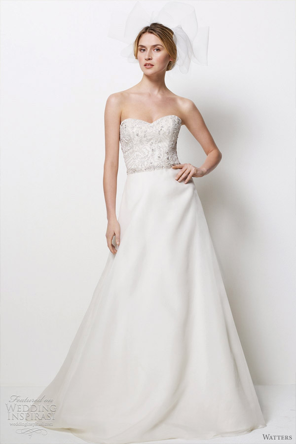 watters bridal 2012 wedding dresses  - montecito