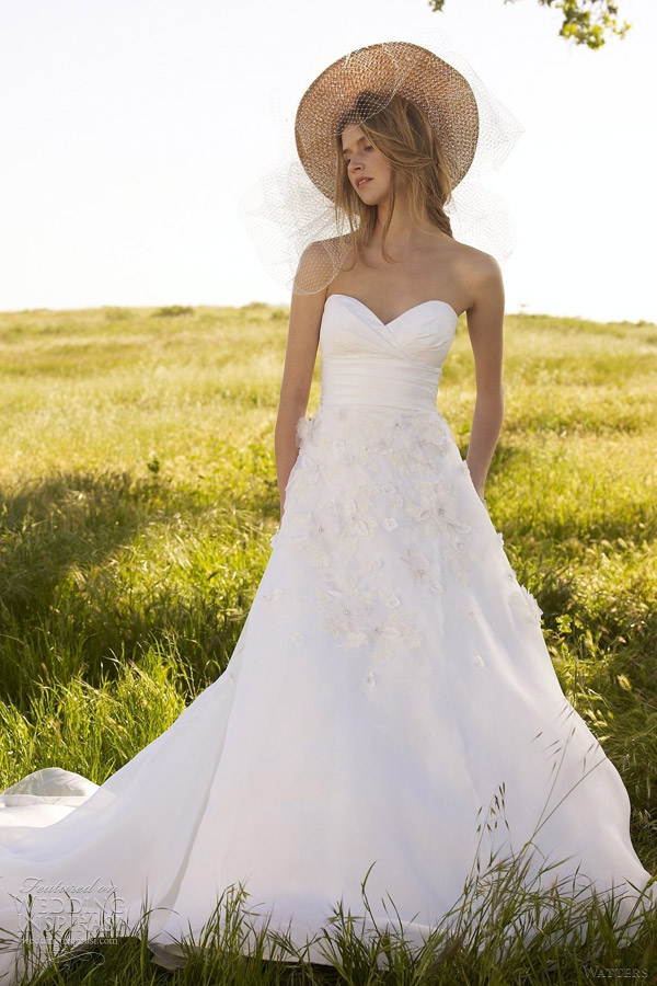 watters malibu wedding dress 2012