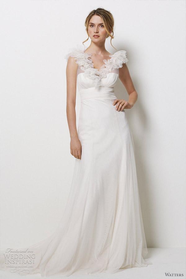 watters wedding dresses 2012 - la jolla