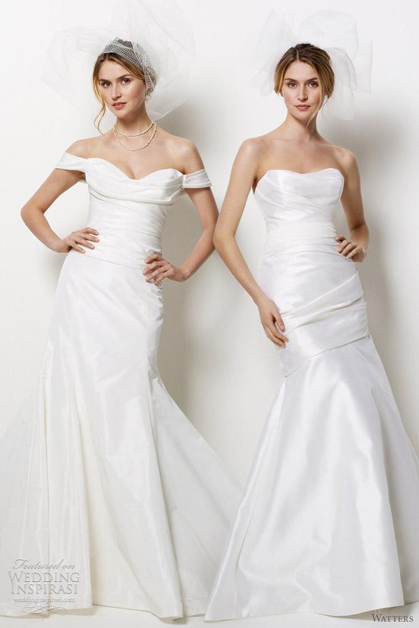 watters wedding dresses spring 2012 -- San Diego, Sonoma
