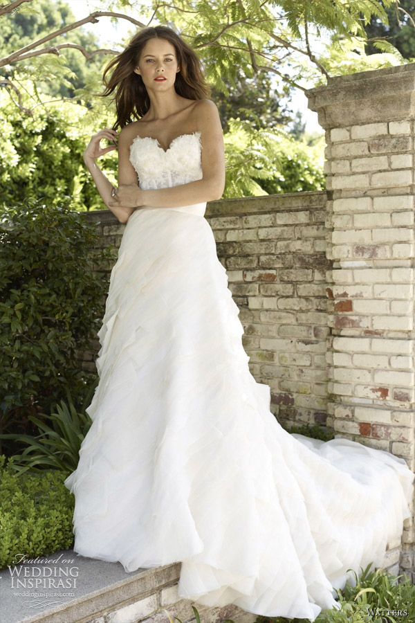 watters wedding dresses spring 2012