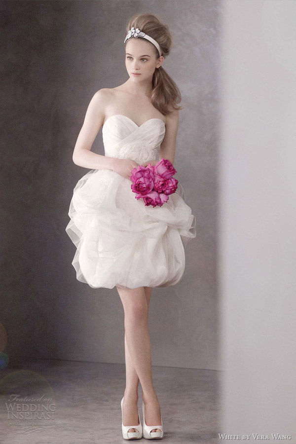 White By Vera Wang Spring 2012 Wedding Dresses