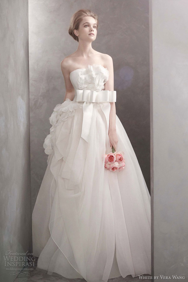 wedding gown with orig...