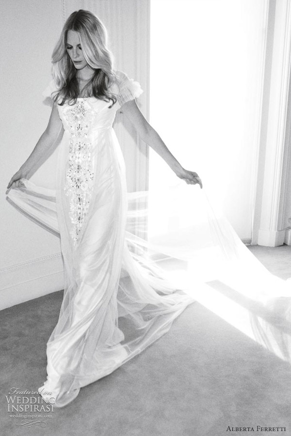 alberta ferretti 2012 bohemian wedding dress