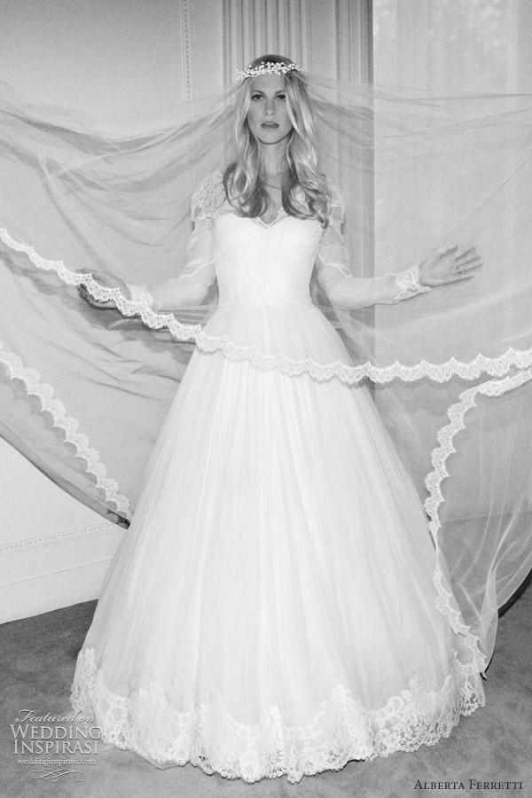 timeless design d8b28 b8680 Alberta Ferretti Wedding Dresses — Forever 2012 Bridal ...