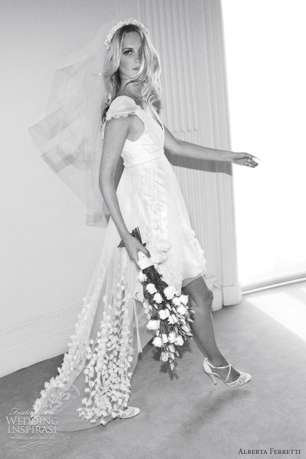 alberta ferretti wedding dress forever 2012 collection