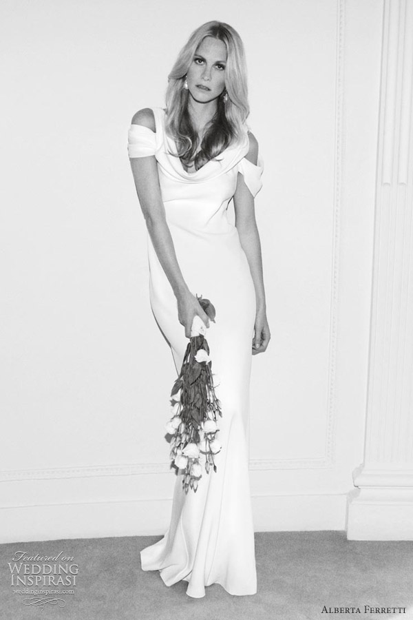 alberta ferretti wedding dresses 2012