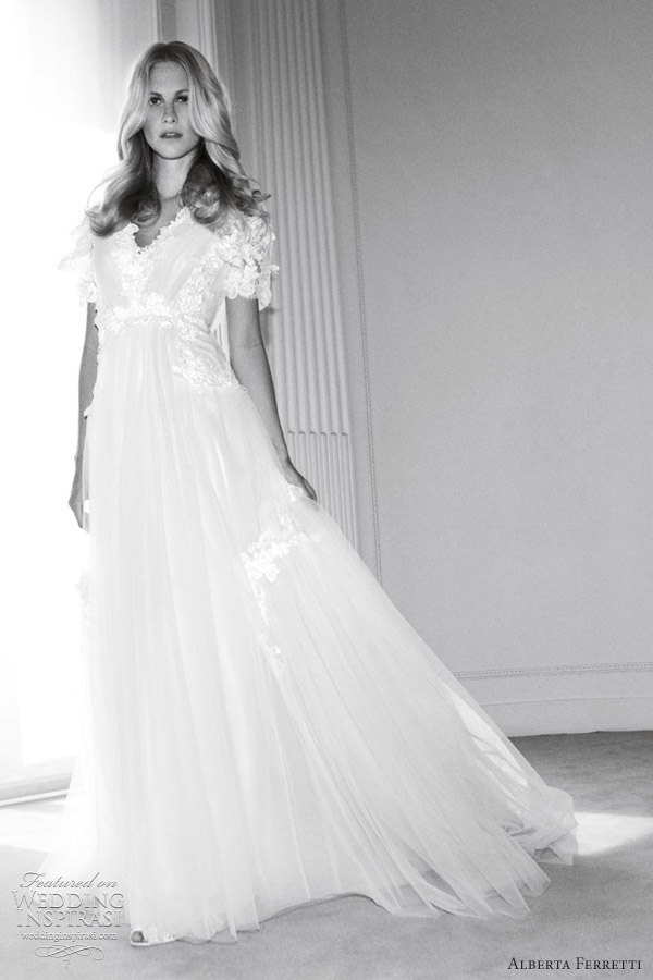 alberta ferretti wedding dresses forever 2012 collection