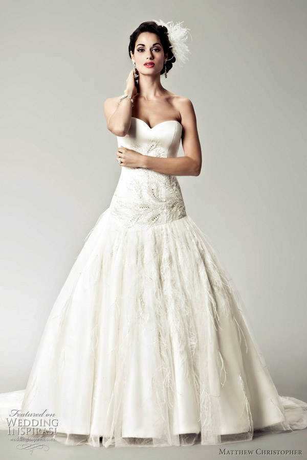 Full Ball Gown Wedding Dresses With Sweetheart Neckline