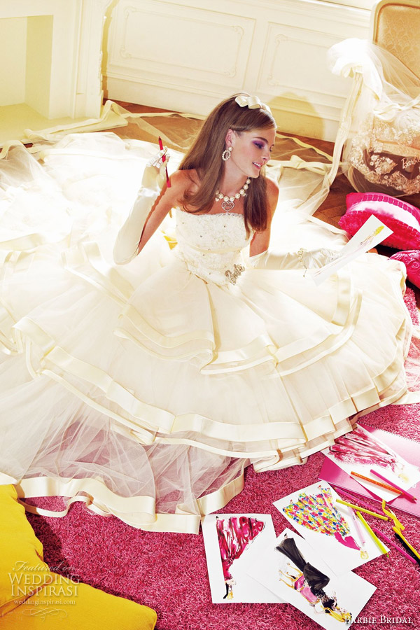 barbie wedding dresses 2012 collection