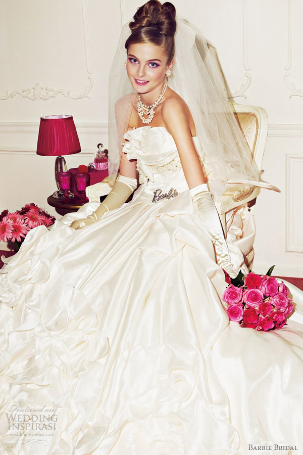 barbie wedding dresses 2012