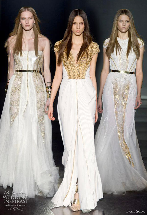 basil soda spring 2012 couture wedding dresses