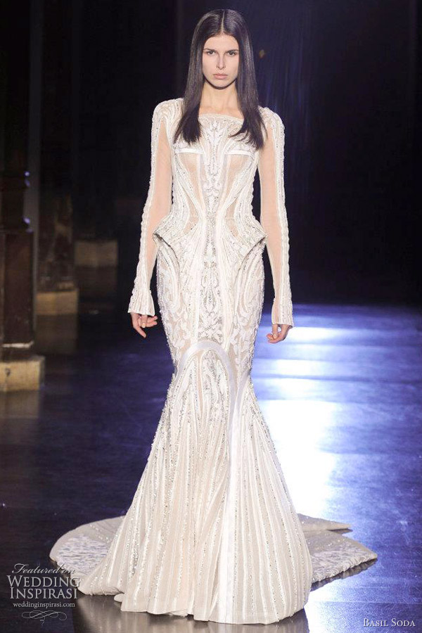basil soda wedding dress 2012