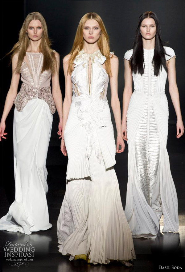 basil soda wedding dresses 2012 spring couture