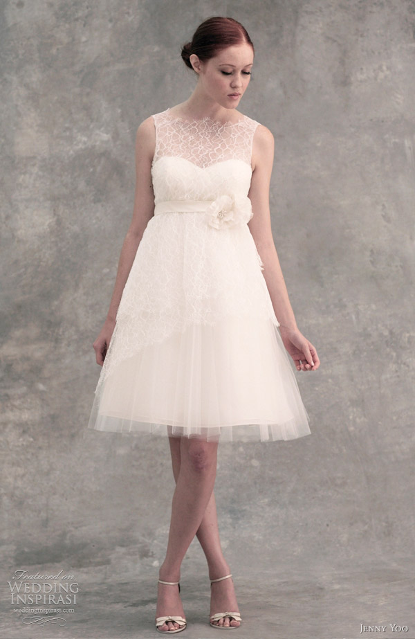 Jenny yoo wedding dresses 2012 wedding inspirasi page 2 for Jenny yoo wedding dresses