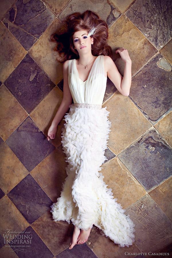 charlotte casadejus wedding dresses - maude