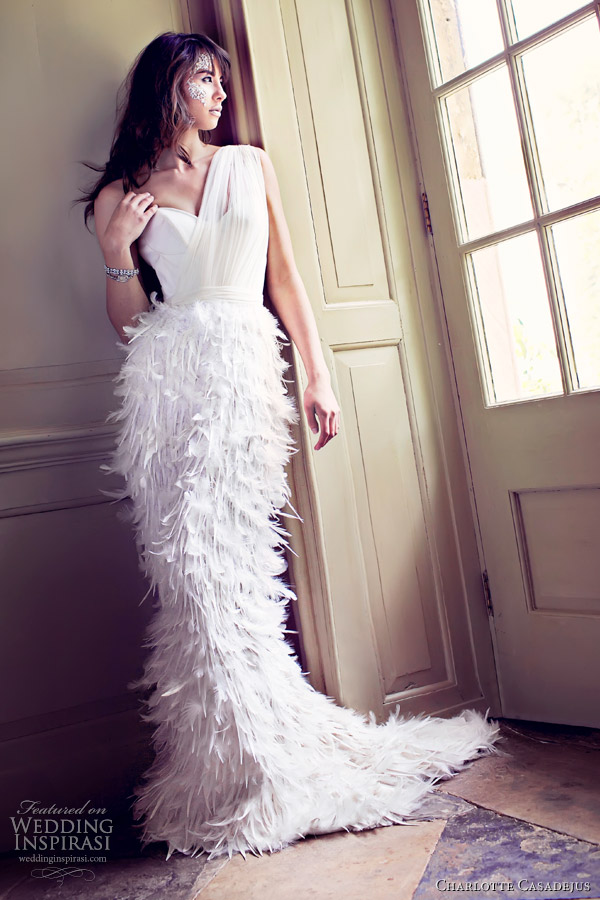 charlotte casadejus - Margot wedding dress