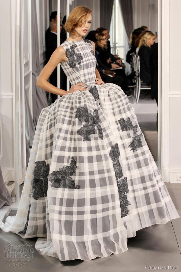Christian Dior Spring Summer 2012 Couture Wedding Inspirasi
