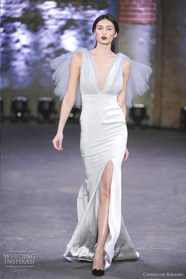 christian siriano fall 2012 wedding dress