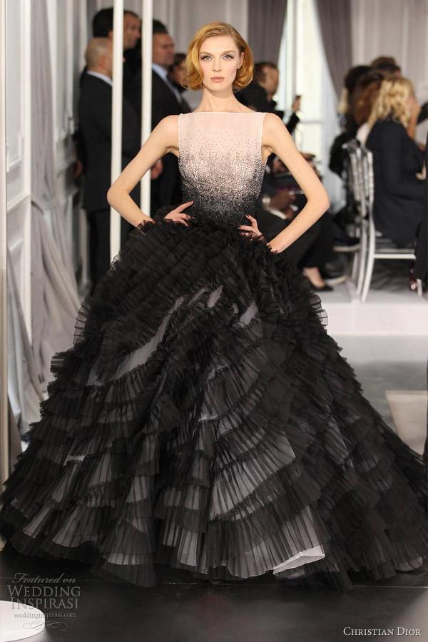 Christian Dior Short Wedding Dress