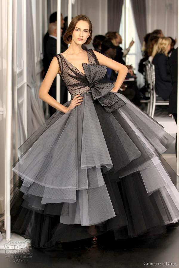 Christian Dior Spring Summer 2012 Couture Wedding Inspirasi