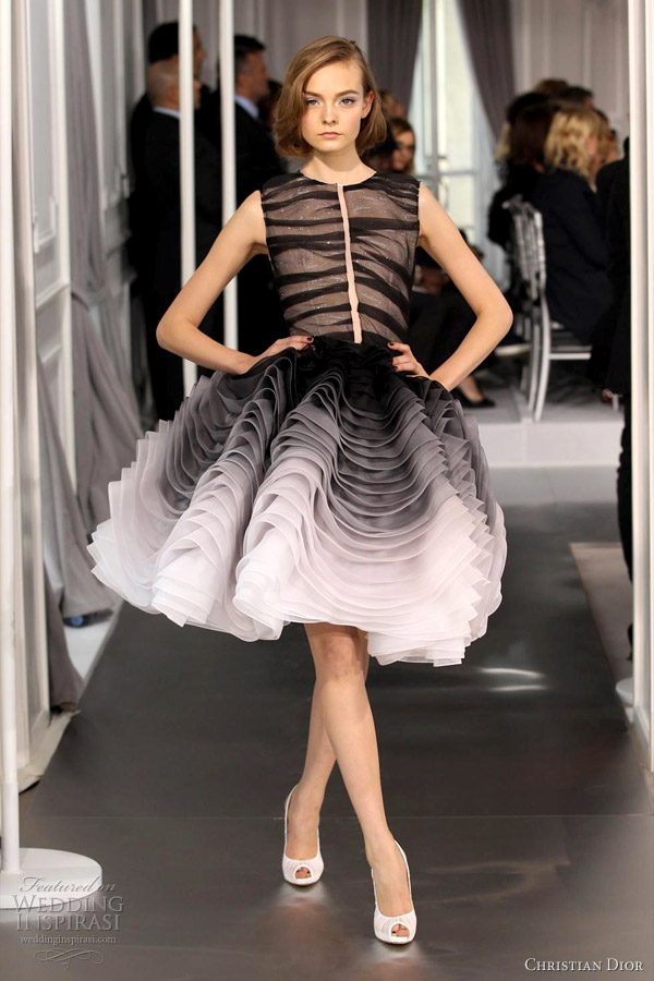 Estremamente Christian Dior Spring/Summer 2012 Couture | Wedding Inspirasi WF15