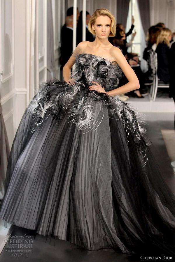 christian dior springsummer 2012 couture wedding inspirasi