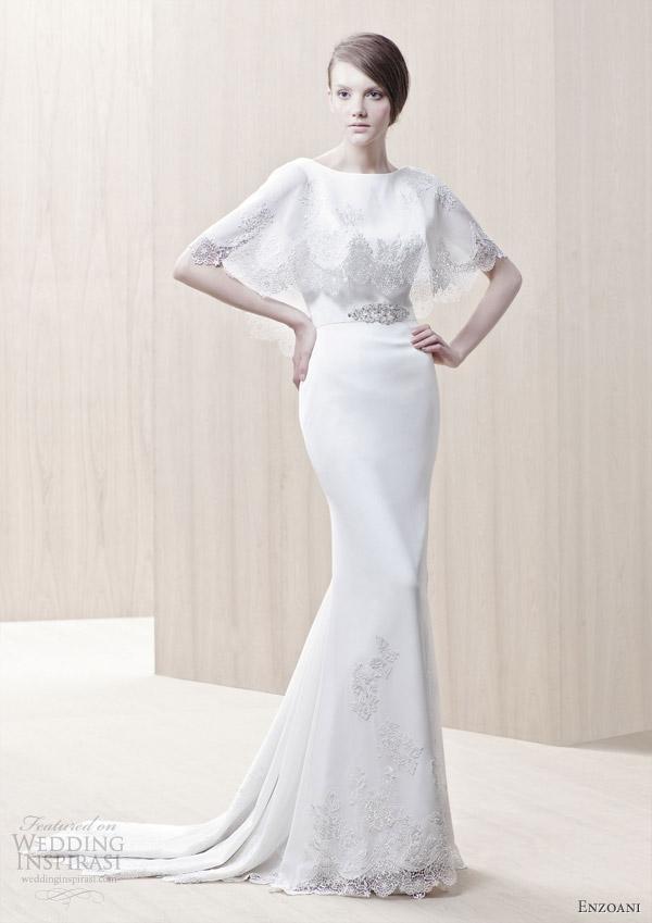 Modified Mermaid Wedding Dress 81 Stunning enzoani bridal ginger wedding