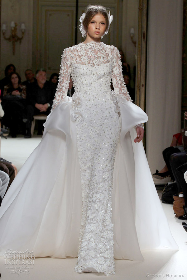 georges hobeika wedding dress 2012